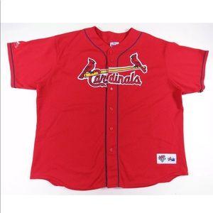 Mark McGwire St. Louis Cardinals Majestic Jersey